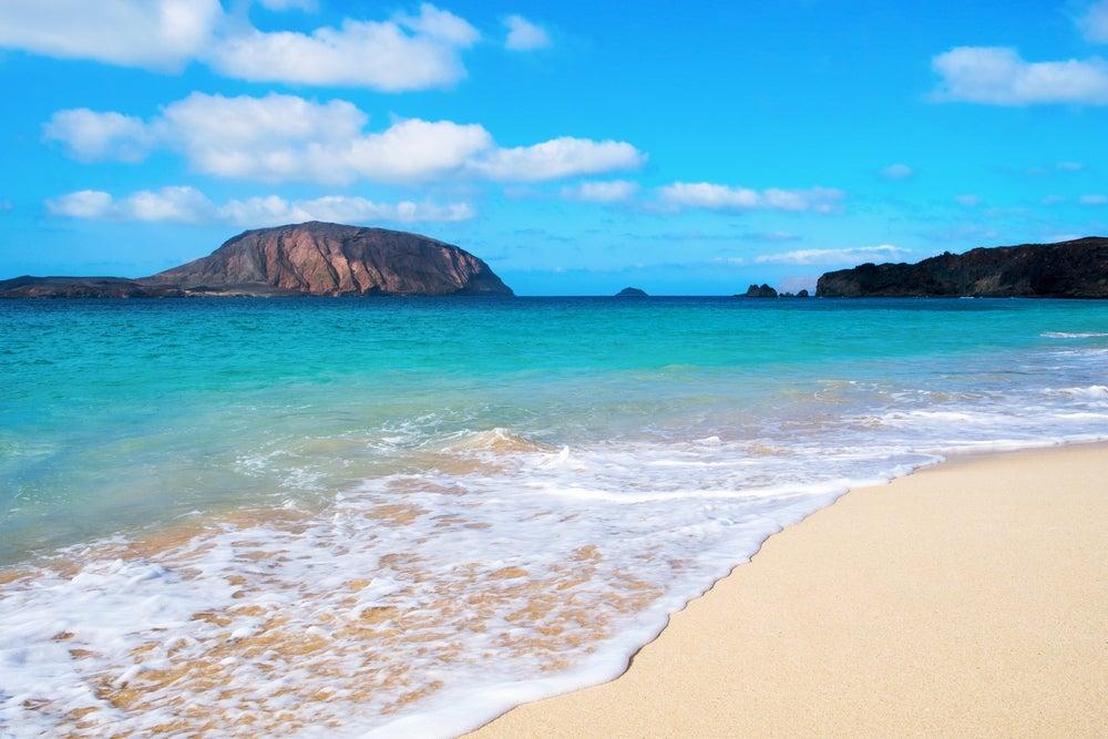 Playa de las Conchas en La Graciosa