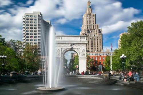 Wasinghton Square Park en Nueva York