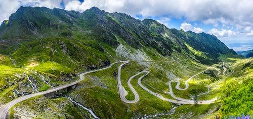Carretera Transfagarasan enTransilvania