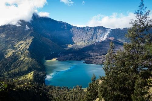 Parque Nacional Gunund Rinjani en Lombok