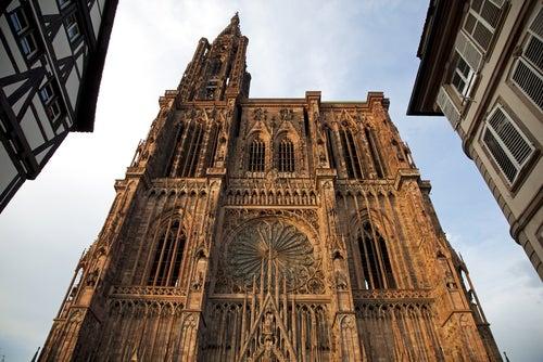 Visitamos Notre Dame, la bella catedral de Estrasburgo