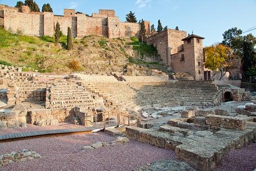Teatro romano, uno de los rincones de Málaga más antiguos