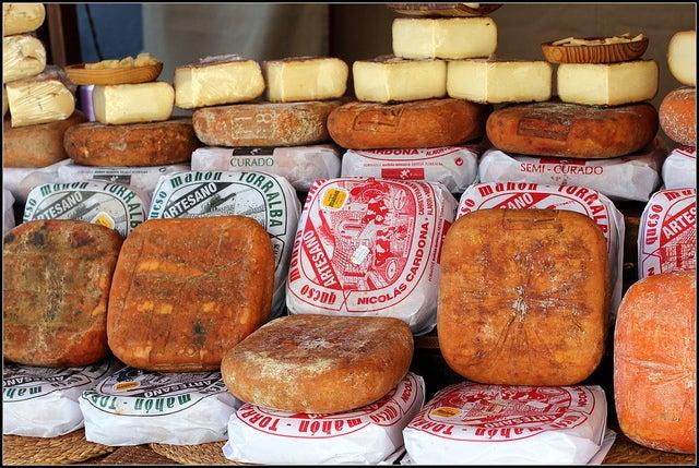 Quesos de Mahón, de los mejores quesos de España