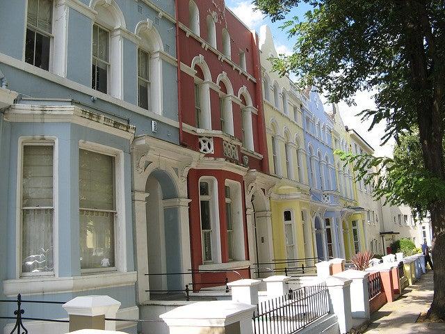 Notting Hill, una de las zonas para alojarse en Londres