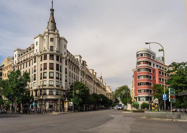 Calle Goya, lugar para alojarse en Madrid