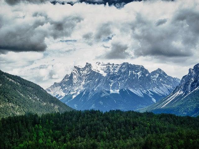 Zugspitze en Baviera