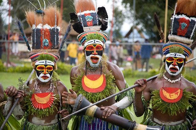 Festival Sing Sing en Papúa Nueva Guinea