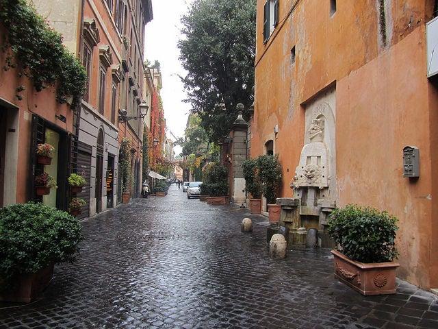 Vía Margutta, uno de los rincones secretos de Roma
