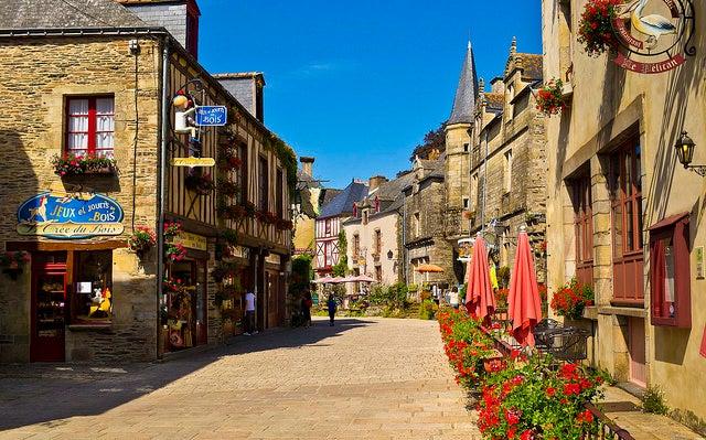 Rochefort-en-Terre en la Bretaña francesa