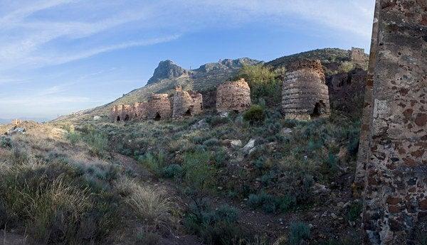 Coto minero en Lucainena de las Torres