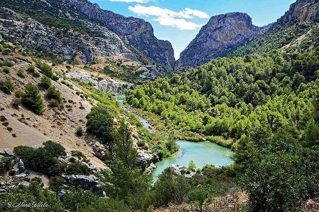 Valle del Hoyo en el Caminito del Rey