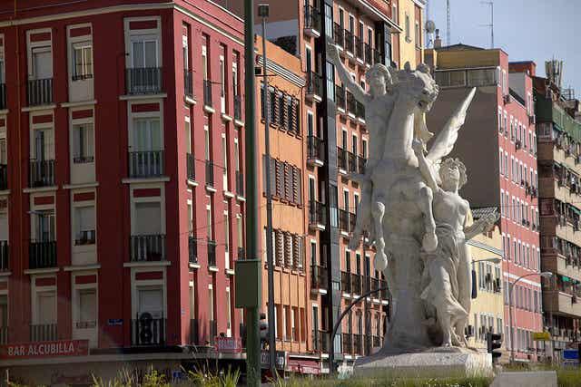 Los rincones del barrio de Legazpi en Madrid