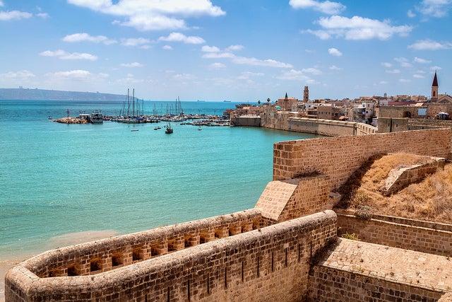 Visitamos la vieja ciudad de Acre en Israel