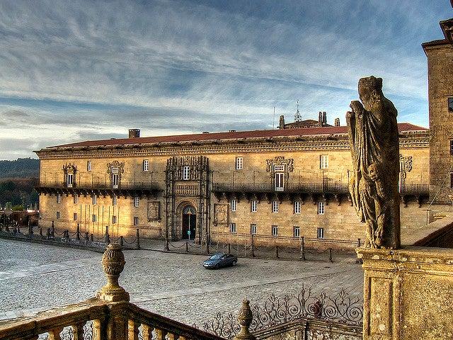Hostal dos Reis Católicos, lugar para alojarse en Santiago
