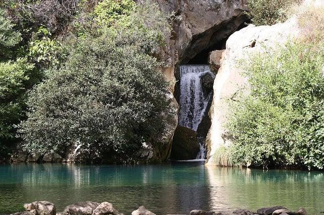 Cueva del Gato en la Sierra de Grazalema