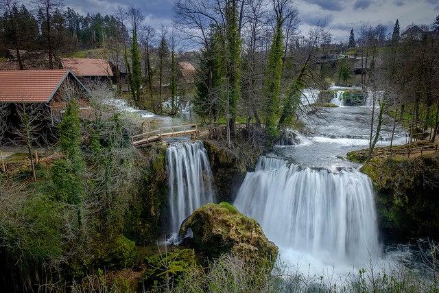 Rastoke, unlugr que ver en Croacia