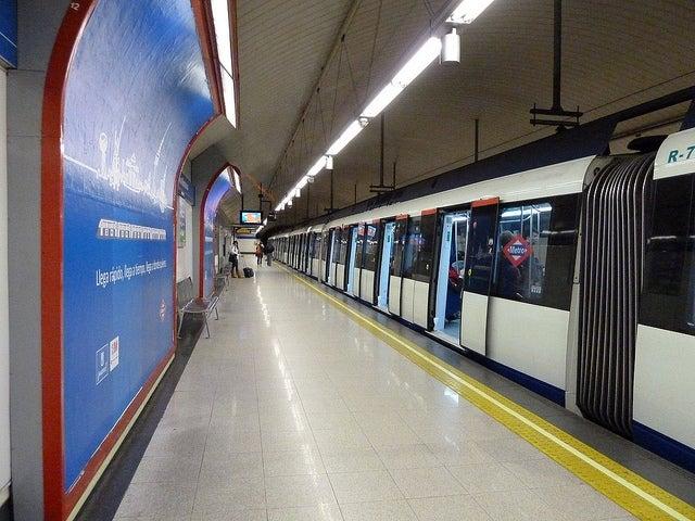 Andén de Metro de Madrid