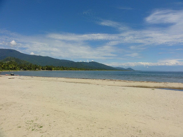 Playa en Papúa Nueva Guinea