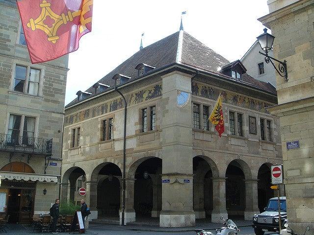 Ayuntamiento, uno de los sitios que ver en Ginebra