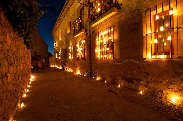 Noche de las velas en Pedraza