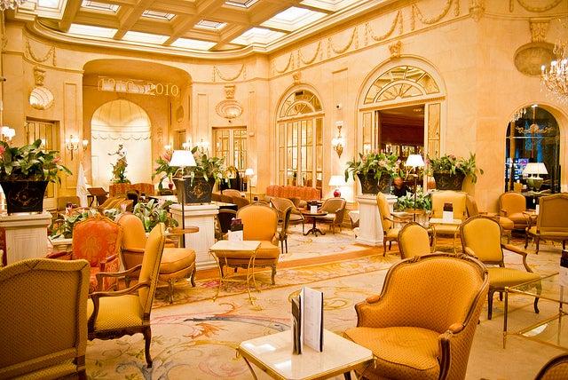 Hotel Ritz, uno de los sitios para tomar el brunch en Madrid