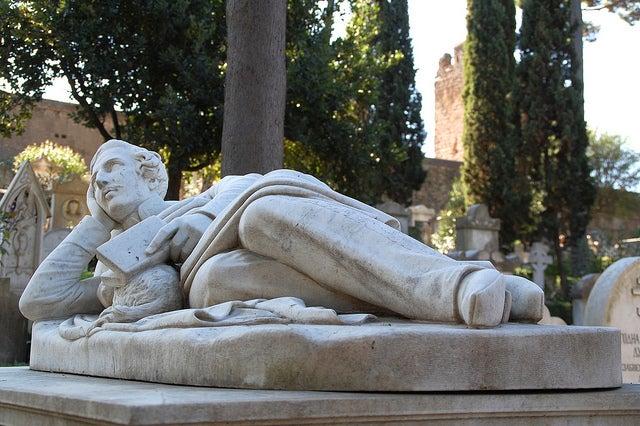 Cementerio protestante, uno de los rincones secretos de Roma