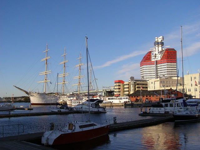 Vista de Göteborg