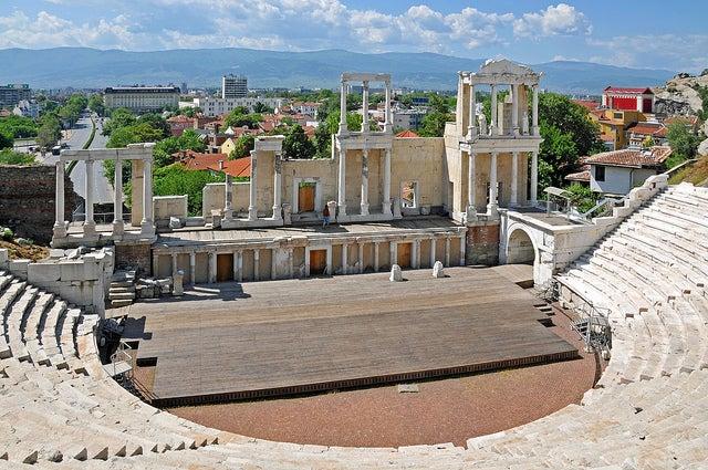 Anfieteatro Romano de Plovdiv