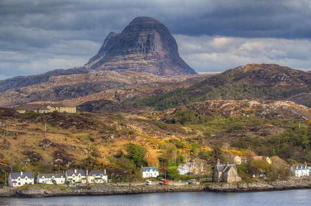 Lochinver en Escocia