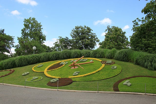 JArdín Inglés uno de los sitios mque ver en Ginebra