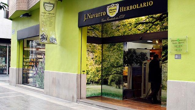 Herbolario NAvarro, uno de los supermercados ecológicos en Madrid