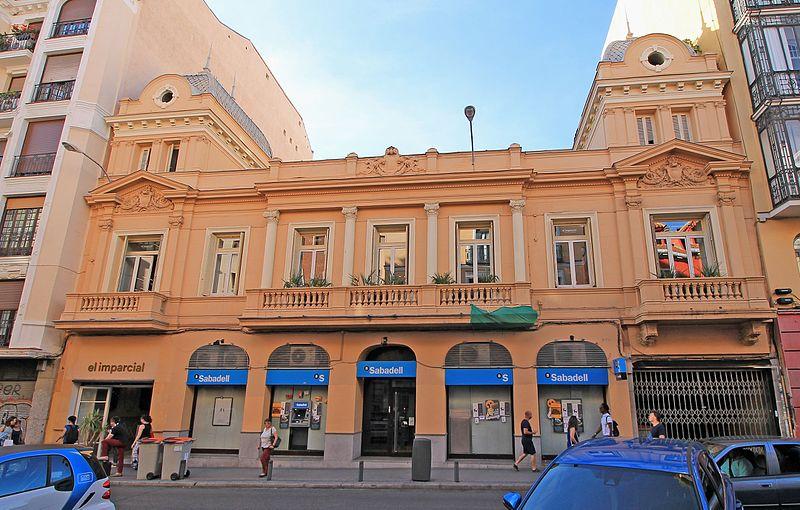 El imparcial, lugar de bocatas de calamares en Madrid