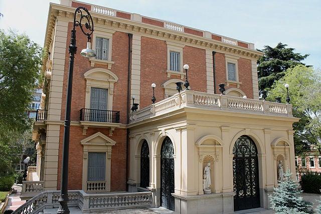 Museo Lázaro Galdiano en la calle Serrano