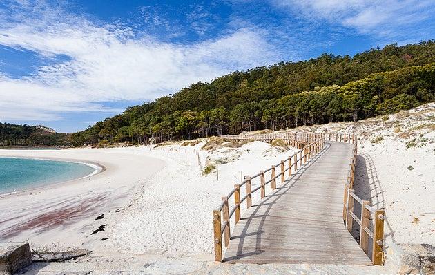 Islas Cíes uno de los lugares que ver en Galicia
