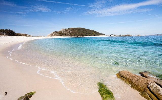 Playa de Rodas en Pontevedra