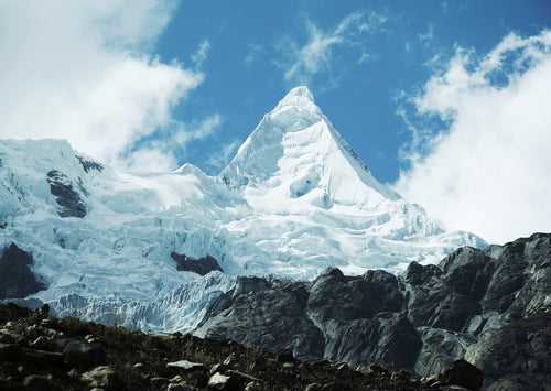 Monte Almapayo, una de la montañas más bonitas
