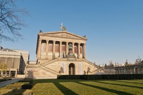 Altes Museum de Berlín, ciudad cosmopolita de Alemania