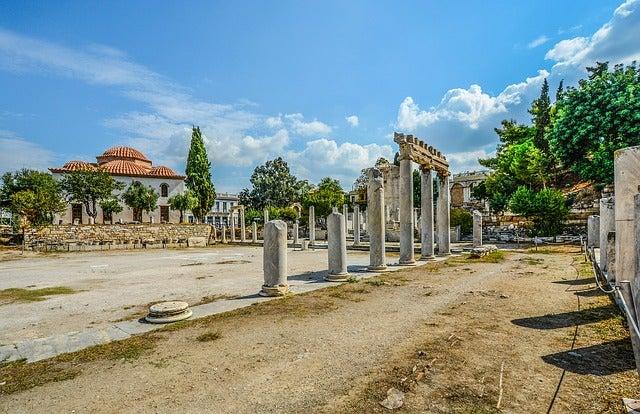 Ágora, una de las cosas que ver en Atenas