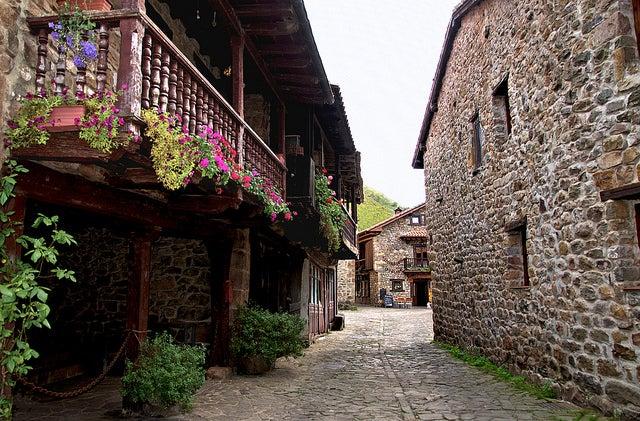 Cantabria en coche: Bárcena Mayor