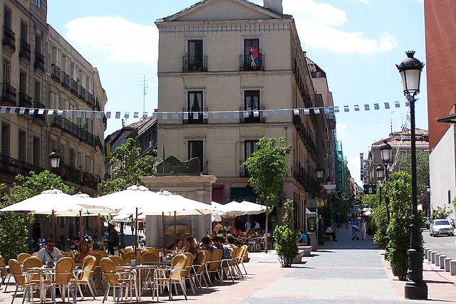 BAriio de las Letras, un lugar par alojarse en Madrid