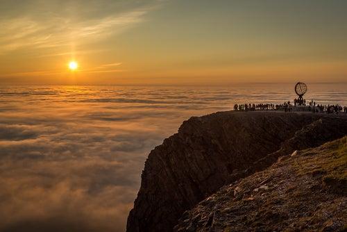 Cabo Norte, uno delos rincones de Noruega más bellos