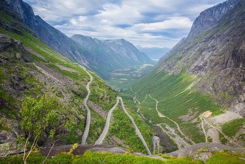 Carretera Trollstingen Noruega