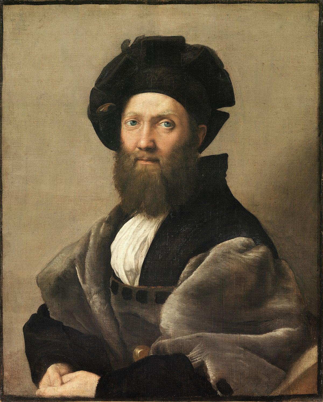 Retrato de Castiglione de Rafael