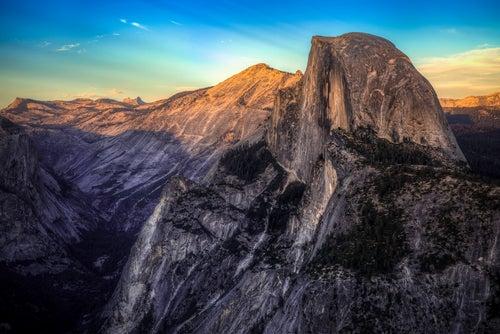 Half Dome, una delas montañas más bonitas del mundo