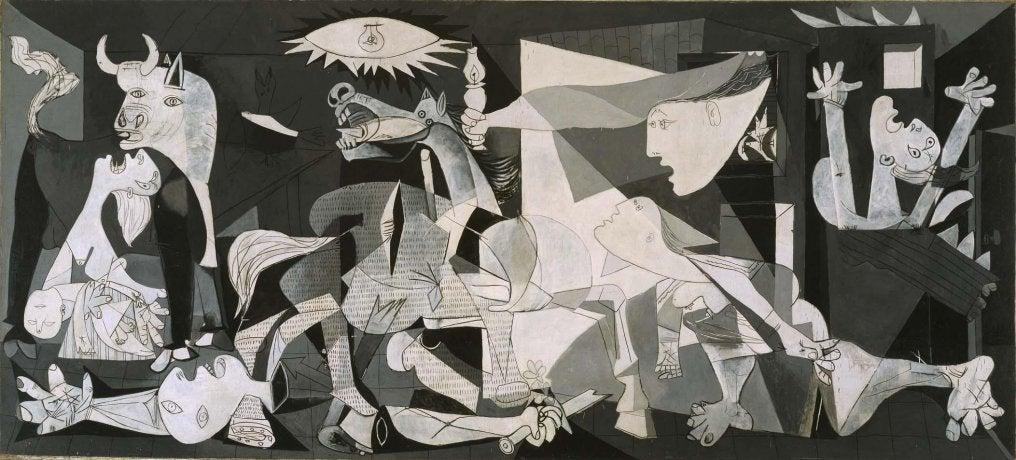 Guernika dePicasso en el Museo Reina Sofía