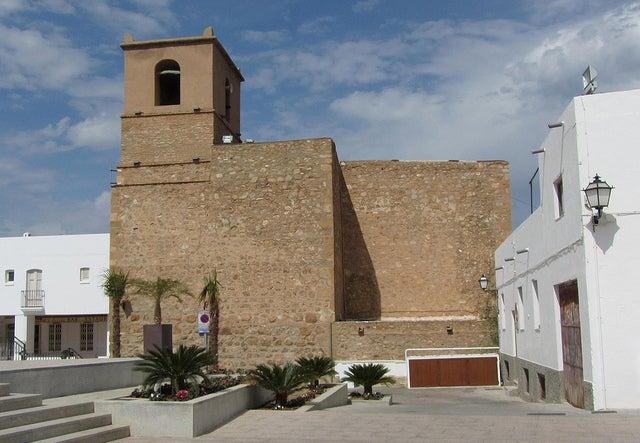 Iglesia de Santa María en Mojácar