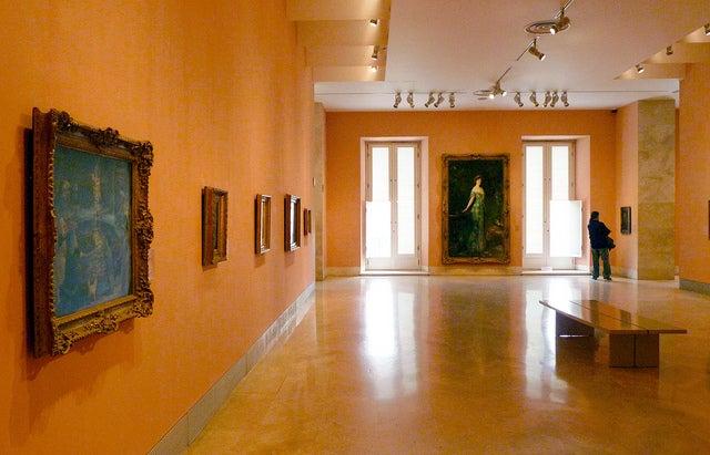 Interior del Museo Thyssen