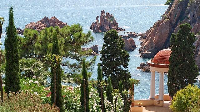 JArdín Marimurtra, u nlugar para ir a la Costa Brava con niños