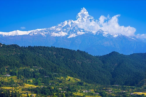 Machapuchare, una de las montañas más bonitas