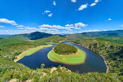 Meandro Melero, uno de los paisajes españoles más bonitos